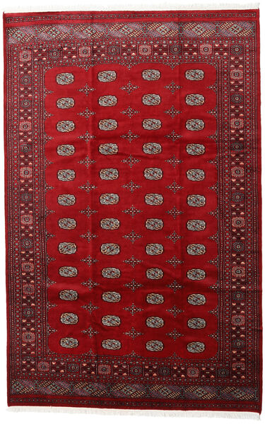 Pakistan Bokhara 2Ply Matto 205X315 Itämainen Käsinsolmittu Punainen/Tummanpunainen (Villa, Pakistan)