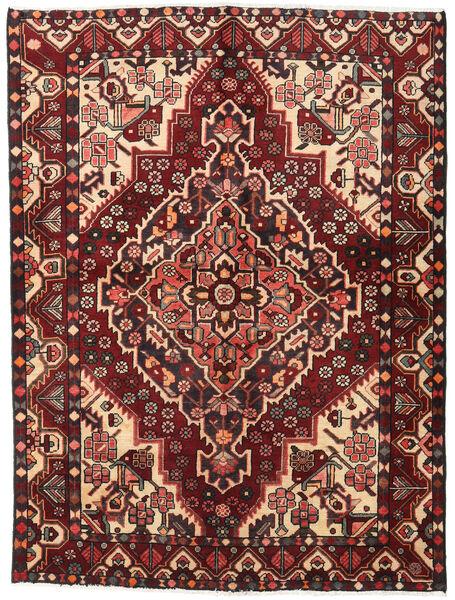 Bakhtiar Matto 156X207 Itämainen Käsinsolmittu Tummanpunainen/Tummanruskea (Villa, Persia/Iran)