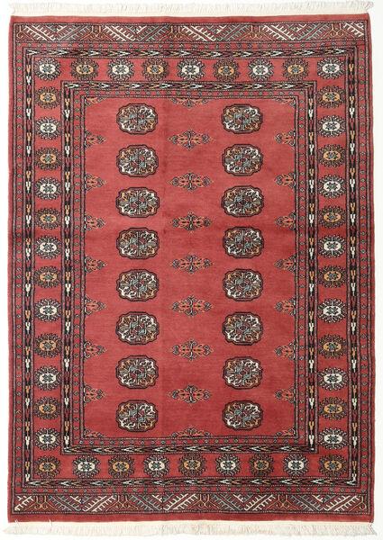 Pakistan Bokhara 2Ply Matto 134X185 Itämainen Käsinsolmittu Tummanpunainen/Tummanruskea (Villa, Pakistan)
