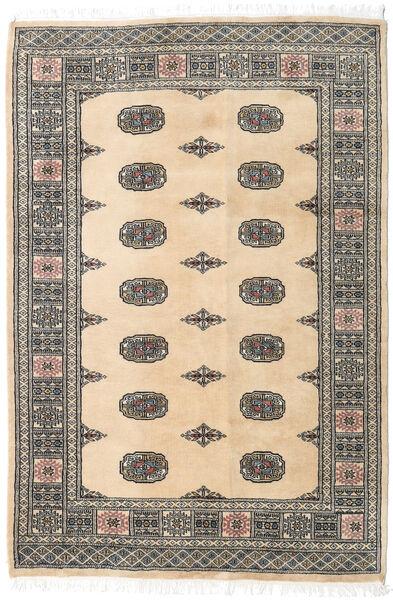 Pakistan Bokhara 2Ply Matto 125X185 Itämainen Käsinsolmittu Tummanharmaa/Beige/Vaaleanharmaa (Villa, Pakistan)