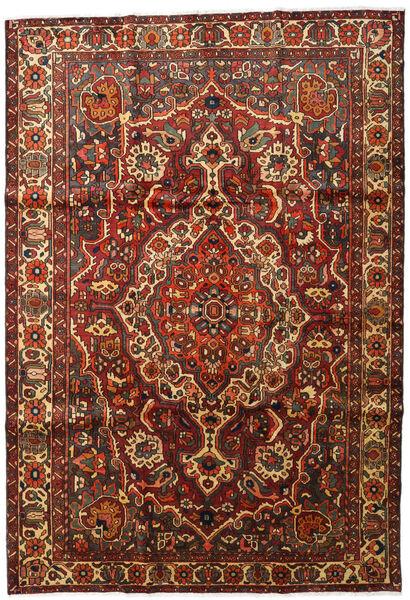Bakhtiar Matto 213X310 Itämainen Käsinsolmittu Tummanruskea/Tummanpunainen (Villa, Persia/Iran)