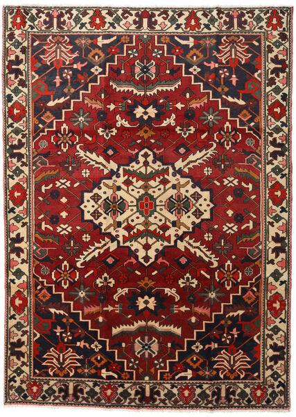 Bakhtiar Matto 218X300 Itämainen Käsinsolmittu Tummanruskea/Tummanpunainen (Villa, Persia/Iran)
