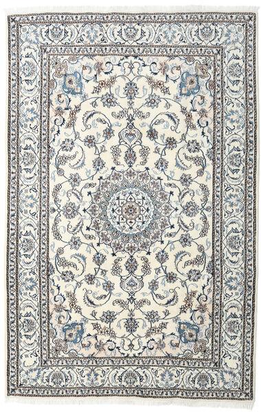 Nain Matto 198X304 Itämainen Käsinsolmittu Vaaleanharmaa/Beige (Villa, Persia/Iran)