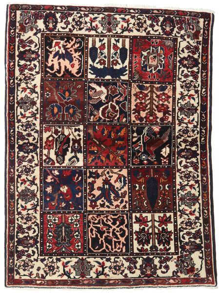Bakhtiar Matto 110X151 Itämainen Käsinsolmittu Tummanruskea/Beige (Villa, Persia/Iran)