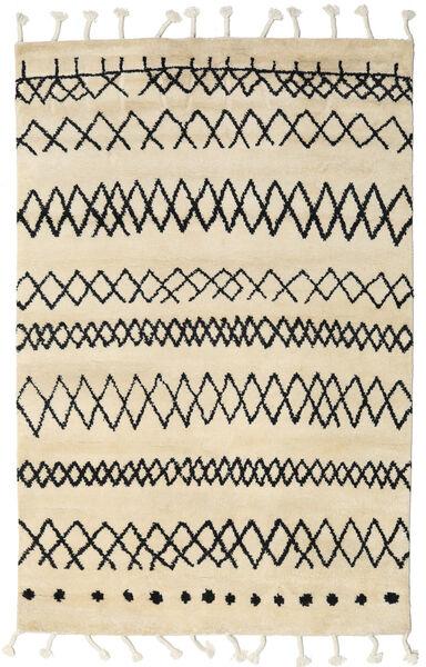 Beni Berber Matto 275X370 Moderni Käsinsolmittu Beige/Tummanharmaa Isot (Villa, Intia)