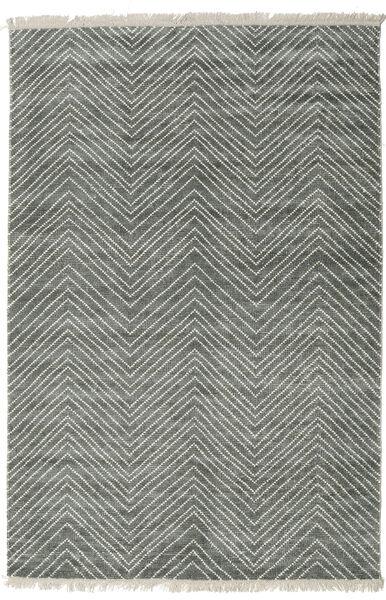 Vanice - Harmaa Vihreä Matto 160X230 Moderni Käsinsolmittu Vaaleanharmaa/Tummanharmaa ( Intia)