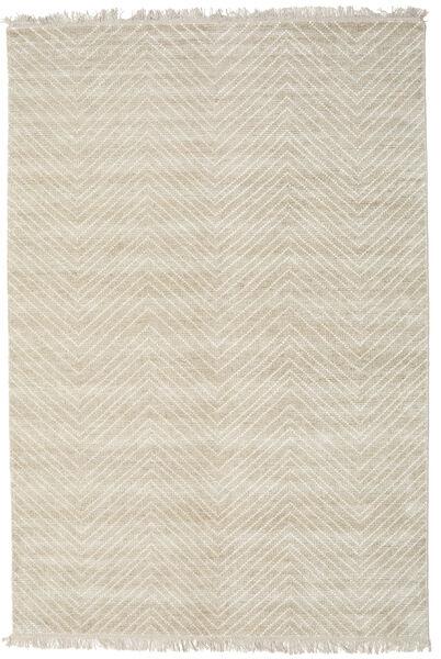Vanice - Beige Matto 160X230 Moderni Käsinsolmittu Tummanbeige/Vaaleanharmaa ( Intia)