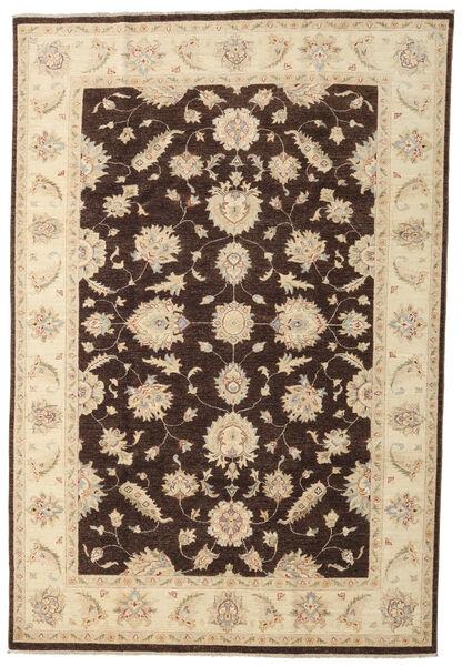 Ziegler Matto 197X290 Itämainen Käsinsolmittu Beige/Tummanruskea (Villa, Pakistan)