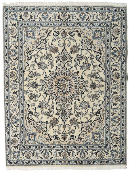 Nain Matto 160X215 Itämainen Käsinsolmittu Vaaleanharmaa/Tummanharmaa (Villa, Persia/Iran)
