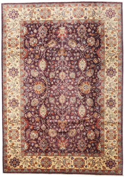 Ziegler Ariana Matto 203X287 Itämainen Käsinsolmittu Tummanpunainen/Tummanruskea (Villa, Afganistan)