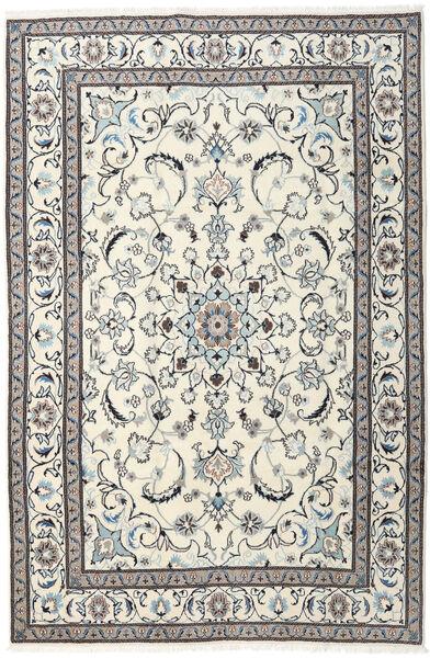 Nain Matto 195X293 Itämainen Käsinsolmittu Beige/Vaaleanharmaa (Villa, Persia/Iran)
