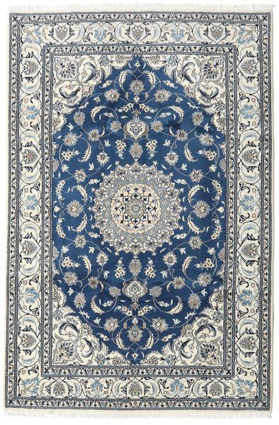 Nain Matto 192X290 Itämainen Käsinsolmittu Beige/Tummansininen (Villa, Persia/Iran)