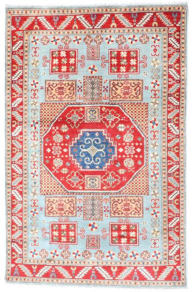 Kazak Matto 117X181 Itämainen Käsinsolmittu Beige/Valkoinen/Creme (Villa, Afganistan)