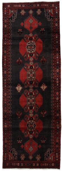 Ardebil Matto 103X296 Itämainen Käsinsolmittu Käytävämatto Tummanruskea/Tummanpunainen (Villa, Persia/Iran)