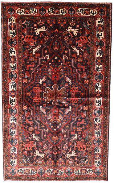 Koliai Matto 150X250 Itämainen Käsinsolmittu Tummanpunainen/Tummanruskea (Villa, Persia/Iran)
