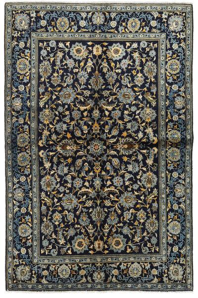 Keshan Matto 134X205 Itämainen Käsinsolmittu Tummansininen/Tummanharmaa (Villa, Persia/Iran)