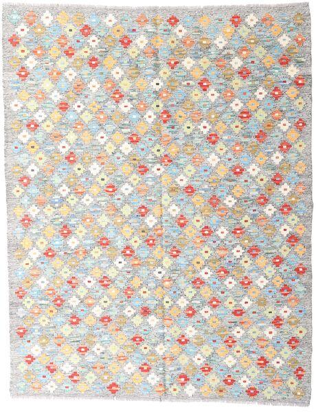 Kelim Afghan Old Style Matto 151X194 Itämainen Käsinkudottu Vaaleanharmaa/Beige (Villa, Afganistan)