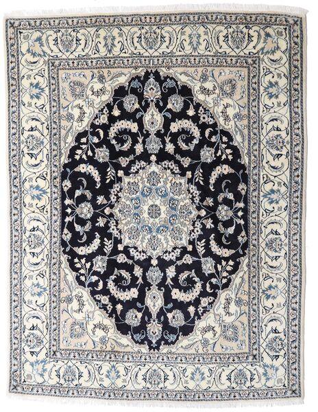 Nain Matto 196X253 Itämainen Käsinsolmittu Vaaleanharmaa/Tummanharmaa (Villa, Persia/Iran)