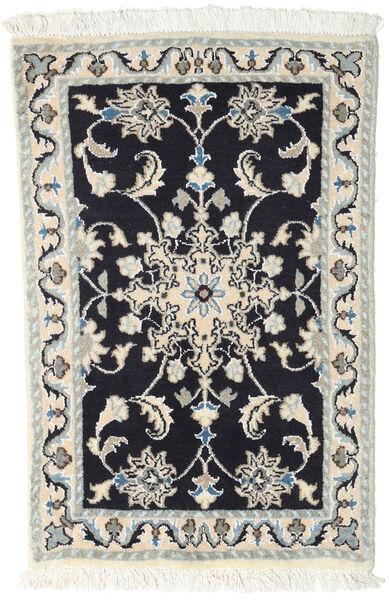 Nain Matto 60X90 Itämainen Käsinsolmittu Tummanharmaa/Vaaleanharmaa/Beige (Villa, Persia/Iran)
