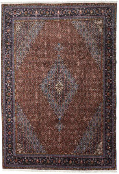 Ardebil Matto 247X359 Itämainen Käsinsolmittu Tummanruskea/Tummanpunainen (Villa, Persia/Iran)