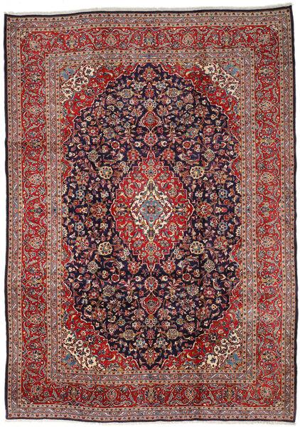 Keshan Matto 300X423 Itämainen Käsinsolmittu Tummanpunainen/Tummanvioletti Isot (Villa, Persia/Iran)
