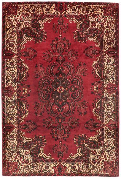 Mashad Matto 195X295 Itämainen Käsinsolmittu Tummanpunainen/Punainen (Villa, Persia/Iran)
