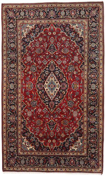 Keshan Matto 178X294 Itämainen Käsinsolmittu Tummanpunainen/Tummanruskea (Villa, Persia/Iran)
