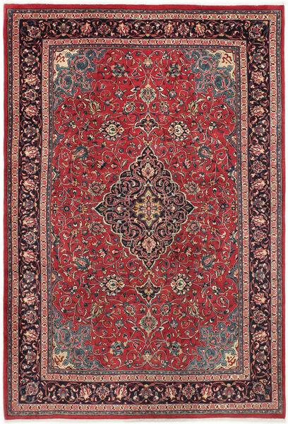 Arak Matto 225X327 Itämainen Käsinsolmittu Tummanruskea/Punainen (Villa, Persia/Iran)