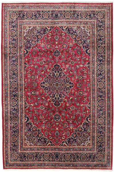 Keshan Matto 195X290 Itämainen Käsinsolmittu Tummanvioletti/Punainen (Villa, Persia/Iran)