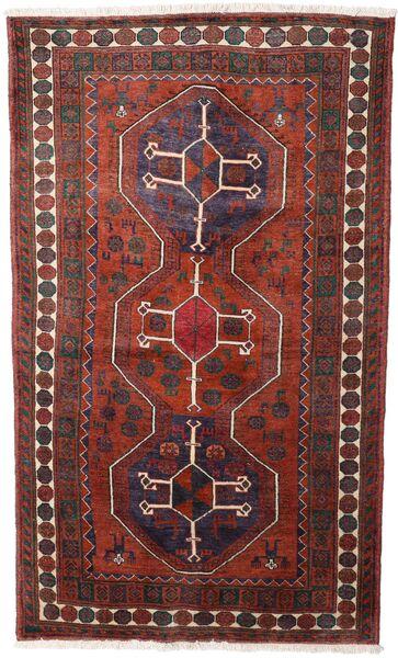 Hamadan Matto 120X205 Itämainen Käsinsolmittu Tummanpunainen/Musta (Villa, Persia/Iran)