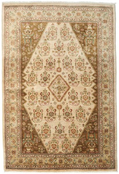 Ziegler Matto 167X246 Itämainen Käsinsolmittu Vaaleanruskea/Tummanbeige (Villa, Pakistan)