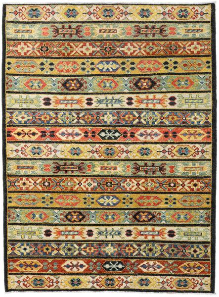 Ziegler Moderni Matto 180X244 Moderni Käsinsolmittu Tummanharmaa/Musta (Villa, Pakistan)