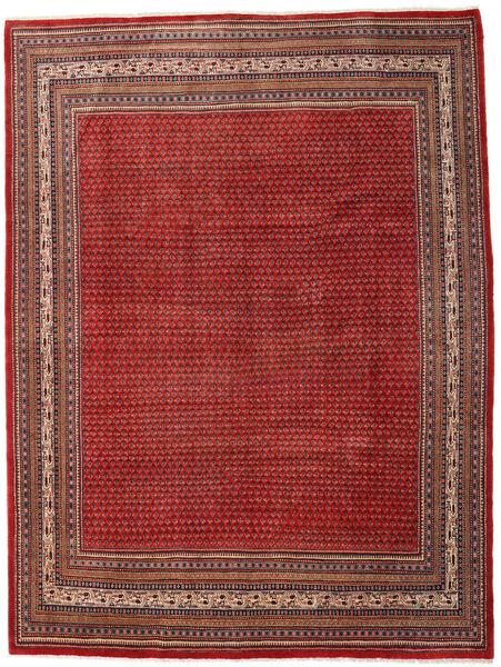 Sarough Mir Matto 273X363 Itämainen Käsinsolmittu Tummanpunainen/Ruoste Isot (Villa, Persia/Iran)