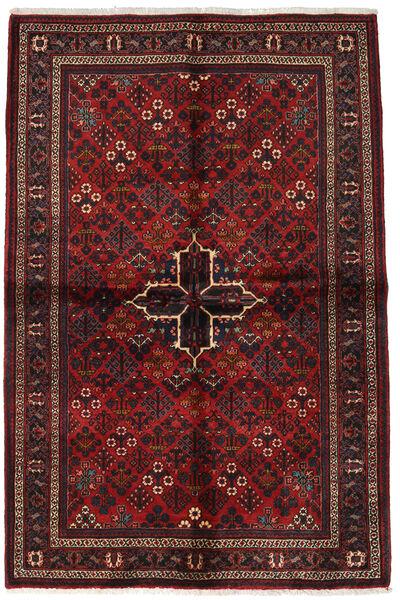 Joshaghan Matto 138X213 Itämainen Käsinsolmittu Tummanpunainen/Tummanruskea (Villa, Persia/Iran)