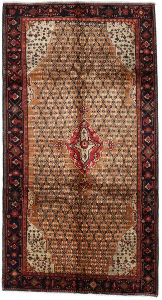 Koliai Matto 157X290 Itämainen Käsinsolmittu Käytävämatto Tummanruskea/Vaaleanruskea (Villa, Persia/Iran)