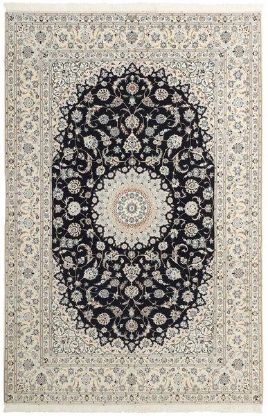 Nain 6La Matto 207X306 Itämainen Käsinsolmittu Vaaleanharmaa/Beige (Villa/Silkki, Persia/Iran)