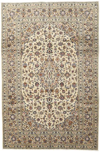 Keshan Matto 197X296 Itämainen Käsinsolmittu Vaaleanharmaa/Beige (Villa, Persia/Iran)