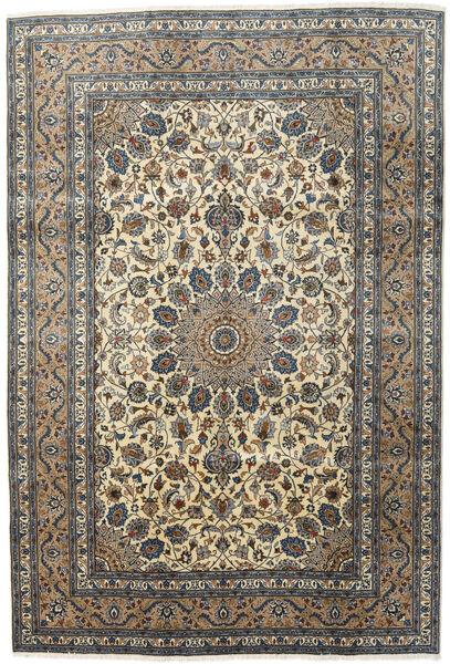 Kashmar Matto 197X292 Itämainen Käsinsolmittu Tummanharmaa/Vaaleanharmaa (Villa, Persia/Iran)