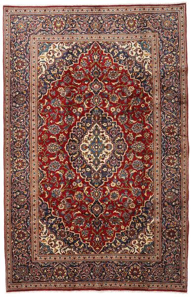 Keshan Matto 192X298 Itämainen Käsinsolmittu Tummanpunainen/Tummanruskea (Villa, Persia/Iran)