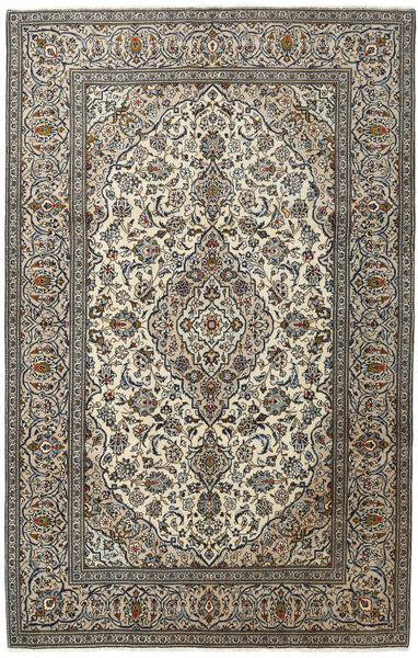 Keshan Matto 194X303 Itämainen Käsinsolmittu Tummanharmaa/Vaaleanharmaa (Villa, Persia/Iran)
