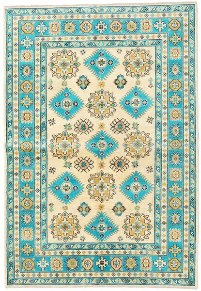 Kazak Matto 172X248 Itämainen Käsinsolmittu Beige/Tummanbeige (Villa, Afganistan)