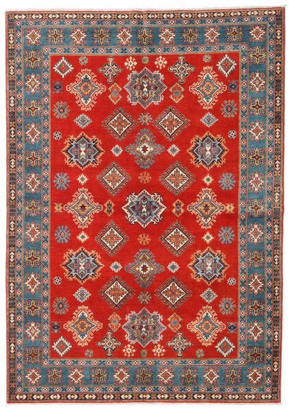 Kazak Matto 169X238 Itämainen Käsinsolmittu Ruoste/Vaaleanruskea (Villa, Afganistan)