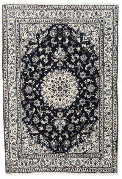 Nain Matto 167X243 Itämainen Käsinsolmittu Musta/Tummanharmaa (Villa, Persia/Iran)