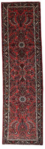 Hamadan Matto 77X280 Itämainen Käsinsolmittu Käytävämatto Tummanpunainen/Tummanruskea (Villa, Persia/Iran)