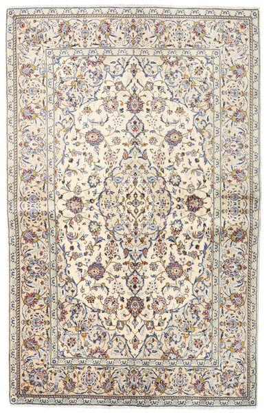 Keshan Matto 140X218 Itämainen Käsinsolmittu Vaaleanharmaa/Beige (Villa, Persia/Iran)