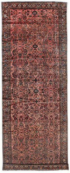 Lillian Matto 220X590 Itämainen Käsinsolmittu Käytävämatto Tummanpunainen/Tummanharmaa (Villa, Persia/Iran)