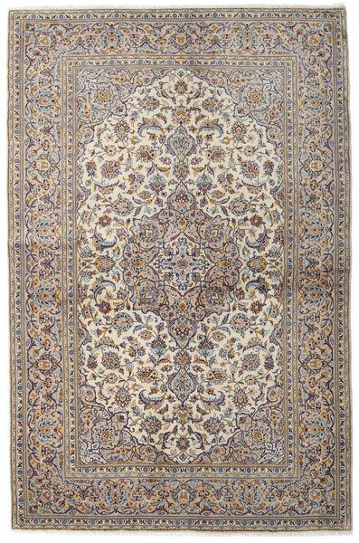 Keshan Matto 137X211 Itämainen Käsinsolmittu Vaaleanharmaa/Vaaleanruskea (Villa, Persia/Iran)