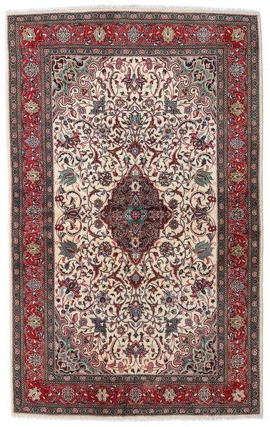Sarough Sherkat Farsh Matto 133X215 Itämainen Käsinsolmittu Tummanruskea/Vaaleanharmaa (Villa, Persia/Iran)