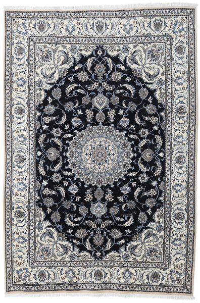 Nain Matto 197X290 Itämainen Käsinsolmittu Vaaleanharmaa/Tummanharmaa (Villa, Persia/Iran)