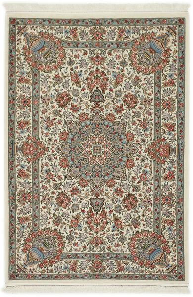 Ilam Sherkat Farsh Silkki Matto 107X152 Itämainen Käsinsolmittu Tummanharmaa/Valkoinen/Creme (Villa/Silkki, Persia/Iran)